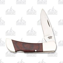 "Bear and Son 3.5"" Lockback Rosewood"