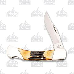 Bear and Son Midsize Lockback India Stag Handles