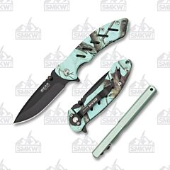 Bear Edge 816 Combo Set Teal