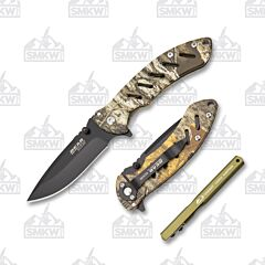 Bear Edge 71824 Combo Set Camo