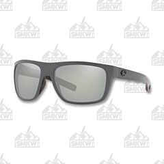 Costa Broadbill Matte Gray Plastic Sunglasses