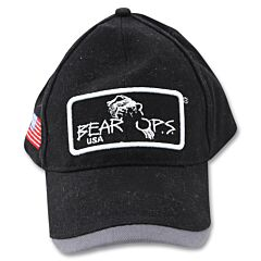 Bear & Son Bear Ops Hat Black