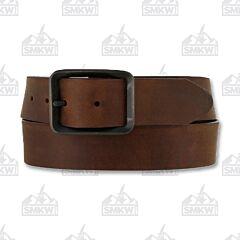 Brighton Men's Buckskin Belt Brown