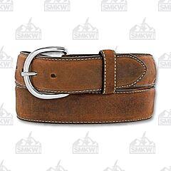 Brighton Men's Classic Western Brown Belt