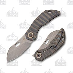 Olamic Cutlery Busker B520-L Largo Flame Colored