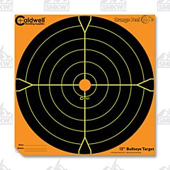 "Caldwell Orange Peel 12"" Bulls Eye 5 Sheets"