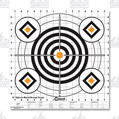 "Caldwell Sight in Target 16"" Black & Orange 10 Pk"