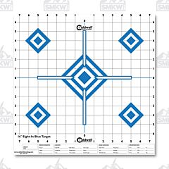 "Caldwell Sight in Target 16"" Hi Contrast Blue 10 Pk"