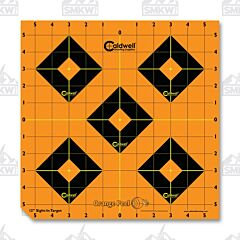 "Caldwell Orange Peel Sight in Target 12"" 5 Sheets"