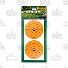 "Caldwell 3"" Orange Shooting Spots 12 Sheets"