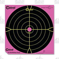 "Caldwell Orange Peel 12"" Bulls Eye 5 Sheets Pink Bullseye"