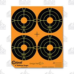"Caldwell Orange Peel 4"" Bulls-Eye 25 Sheets"