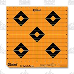 "Caldwell Orange Peel Sight in Target 16"" 12 Sheet"