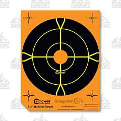 "Caldwell Orange Peel 5.5"" Bulls Eye 10 Sheets"