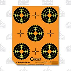 "Caldwell Orange Peel 2"" Bullseye 10 Sheets"
