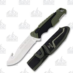 Buck 657 Pursuit Large Guthook Skinner