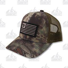 Buck Adult Hat Kryptek Mandrake Flag