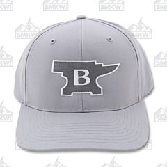 Buck Anvil Patch Hat Gray