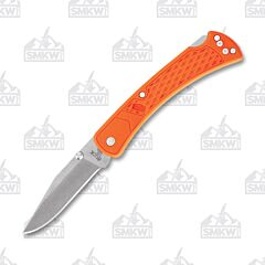 Buck Blaze Orange Slim Select 110 Folding Hunter