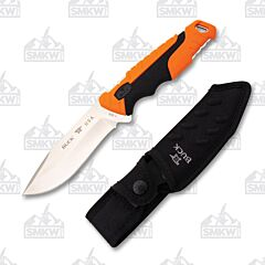 Buck 656 Pursuit Pro Large Orange Fixed Blade