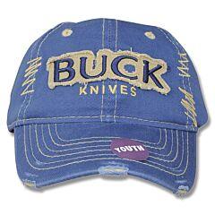 Buck Navy Youth Cap