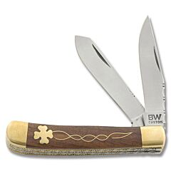 BW Custom Celtic Clover Filework Trapper