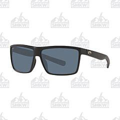Costa Rinconcito Gray and Matte Black Sunglasses