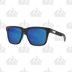 Costa Pescador Blue and Black Blackout Sunglasses