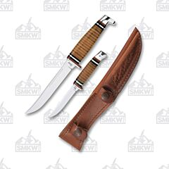 Case FINN Hunter Combo Set Stacked Leather