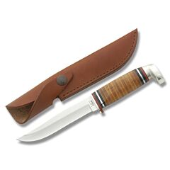 Case Stacked Leather Skinner