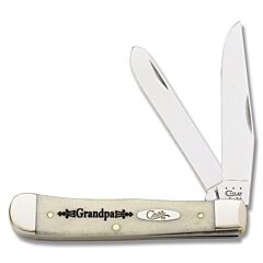 Case Grandpa Natural Smooth Bone Trapper