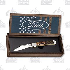 Case Ford Natural Bone CopperLock