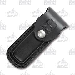 Case Black John Deere Medium Leather Sheath