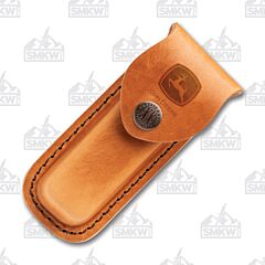 Case Brown John Deere Medium Leather Sheath