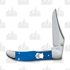 Case Blue G-10 Kickstart Mid-Folding Hunter