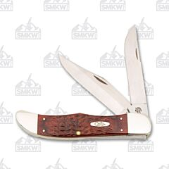 Case Jigged Rosewood Folding Hunter