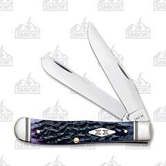 Case Purple Jigged Bone Trapper