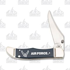 Case US Air Force Navy Blue Smooth Synthetic Kickstart Mid-Folding Hunter