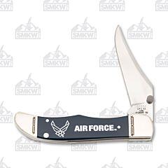 Case US Air Force Navy Blue Smooth Synthetic Kickstart Mid-Folding Hunter