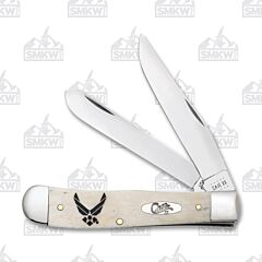 Case US Air Force Smooth Natural Smooth Bone Trapper