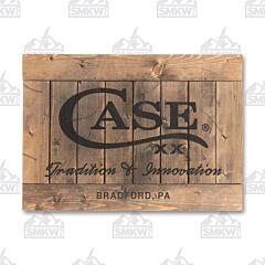 Case Wooden Sign Model 50240