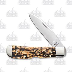 Case Toasted Natural Bone Tribal Lock Tru-Sharp Surgical Steel Blade