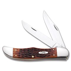 Case Chestnut Bone Chrome Vanadium Folding Hunter