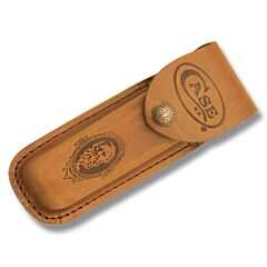 "Case Job Case Portrait Leather Sheath fits Pocketknives up to 4"" Closed"