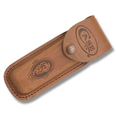 "Case Job Case Portrait Leather Sheath fits Pocketknives up to 5.50"" Closed"