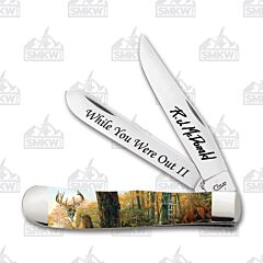 Case RJ McDonald Signature Series 5th Release While You Were Out II Trapper