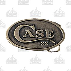 Case Oval Belt Buckle