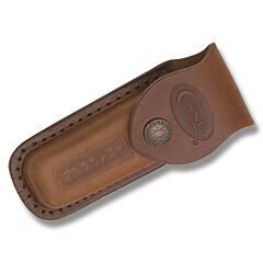 "Case Leather Sheath fits Trapper Knives up to 4-1/8"" Closed Model 980"