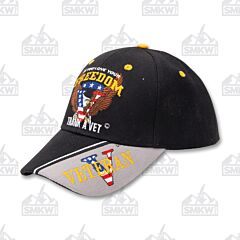 Love Freedom Thank A Vet Cap