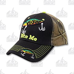 Bite Me Fish Bait Cap